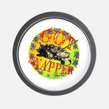Snapping Turtle products Wall Clock