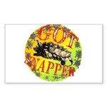 Snapping Turtle products Rectangle Sticker