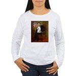 Lincoln & his Bichon Women's Long Sleeve T-Shirt