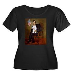 Lincoln & his Bichon T