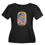Douglas County Sheriff Women's Plus Size Scoop Nec