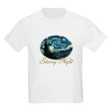 Starry Night by Vincent van Gogh. T-Shirt