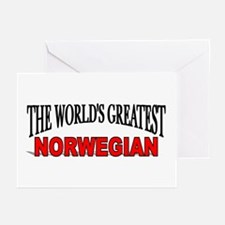 """The World's Greatest Norwegian"" Greeting Cards (P"