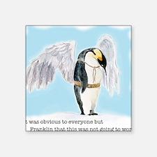 """Franklin the Penguin Square Sticker 3"""" x 3"""""""