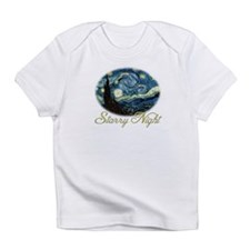 Starry Night by Vincent van Gogh. Infant T-Shirt