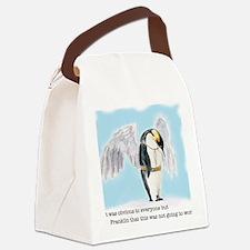 Franklin the Penguin Canvas Lunch Bag