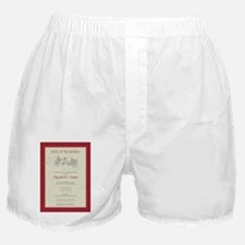 4-bicycle-built-for-two_red Boxer Shorts