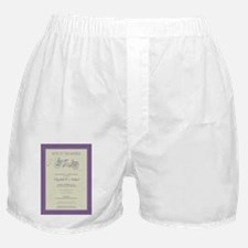 4-bicycle-built-for-two_purple Boxer Shorts