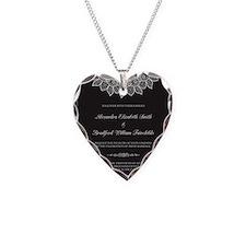 16-lace-doily_black Necklace