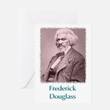 Frederick Douglass w text Greeting Card
