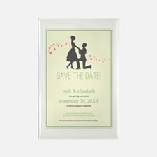 9-silhouette-proposal_mint Rectangle Magnet
