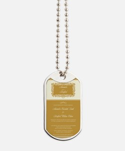 18-heart-frame_gold Dog Tags