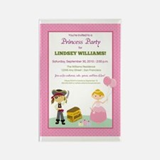10-princess-party_pirate Rectangle Magnet