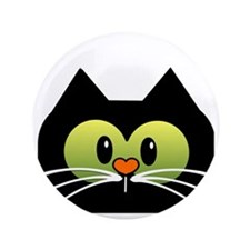 "Im a Cat rescuer and I love it new des 3.5"" Button"