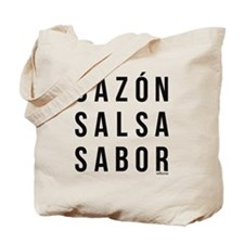 Sazon Salsa Sabor Tote Bag