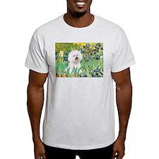 Irises and Bichon T-Shirt