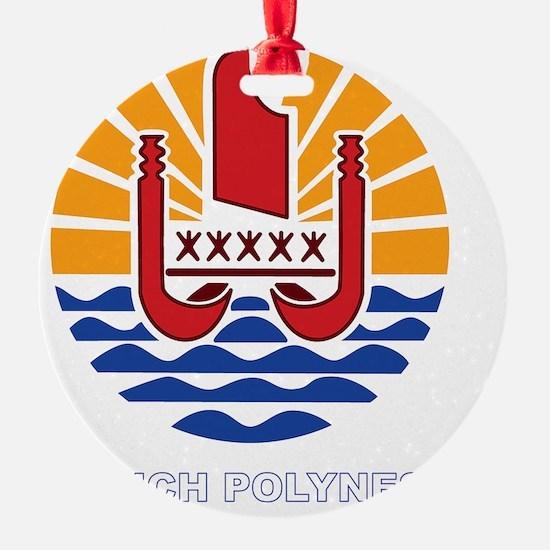 French Polynesia - Polynesie Franca Ornament