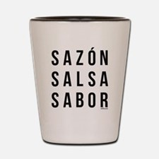 Sazon Salsa Sabor Shot Glass