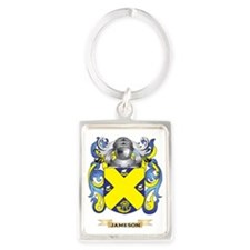 Jameson Coat of Arms (Family Cre Portrait Keychain