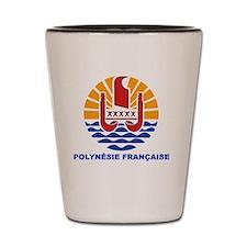 French Polynesia - Polynesie Francaise Shot Glass