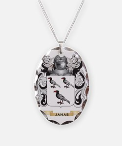 Janas Coat of Arms (Family Cre Necklace