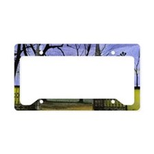 Open Wide License Plate Holder
