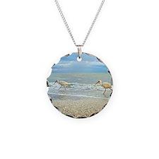 Sanibel Ibis Birds Strut The Necklace Circle Charm