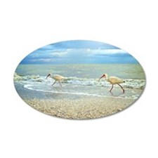 Sanibel Ibis Birds Strut The Wall Decal