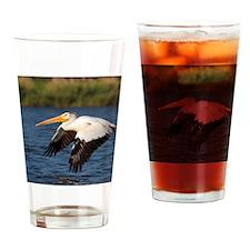 Pelican tree Drinking Glass