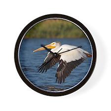 Pelican tree Wall Clock