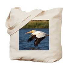 Pelican tree Tote Bag
