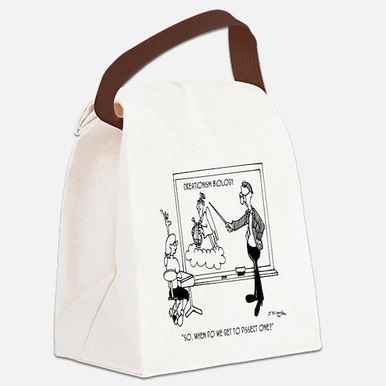 Creationism Biology Canvas Lunch Bag
