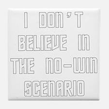 No-win Scenario Tile Coaster