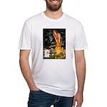 Fairies & Bichon Fitted T-Shirt