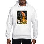 Fairies & Bichon Hooded Sweatshirt