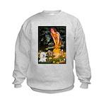 Fairies & Bichon Kids Sweatshirt