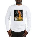Fairies & Bichon Long Sleeve T-Shirt