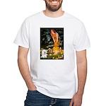 Fairies & Bichon White T-Shirt