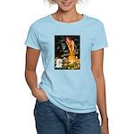 Fairies & Bichon Women's Light T-Shirt