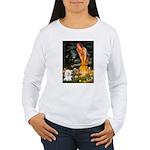 Fairies & Bichon Women's Long Sleeve T-Shirt
