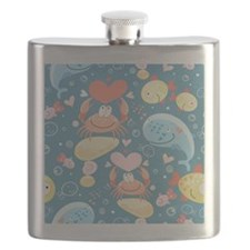 Cute Sea Life Flask