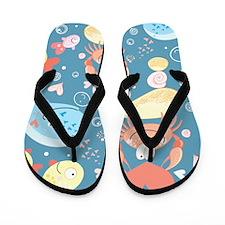 Cute Sea Life Flip Flops
