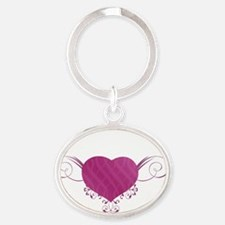 South Carolina State (Heart) Gifts Oval Keychain