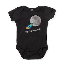 bitcoin to the moon Baby Bodysuit