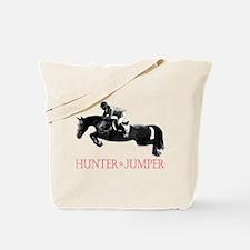 Hunter, Jumper Horse In Red Tote Bag