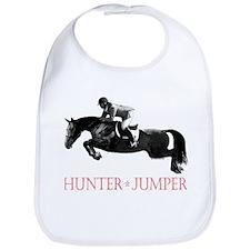 Hunter, Jumper Horse In Red Bib