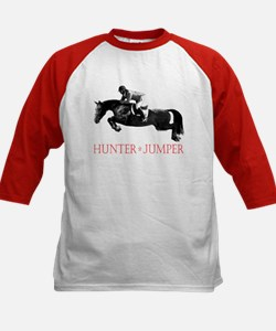Hunter, Jumper Horse In Red Tee