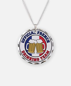 Official French Drinking Tea Necklace