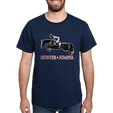 Hunter, Jumper Horse In Red T-Shirt