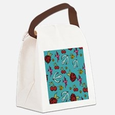 Tattoos Canvas Lunch Bag